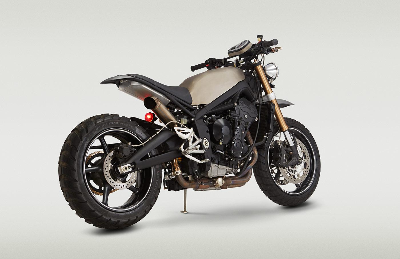 Auxiliary Motorcycle Fuel Tank Doomsdaytona - Classified Moto